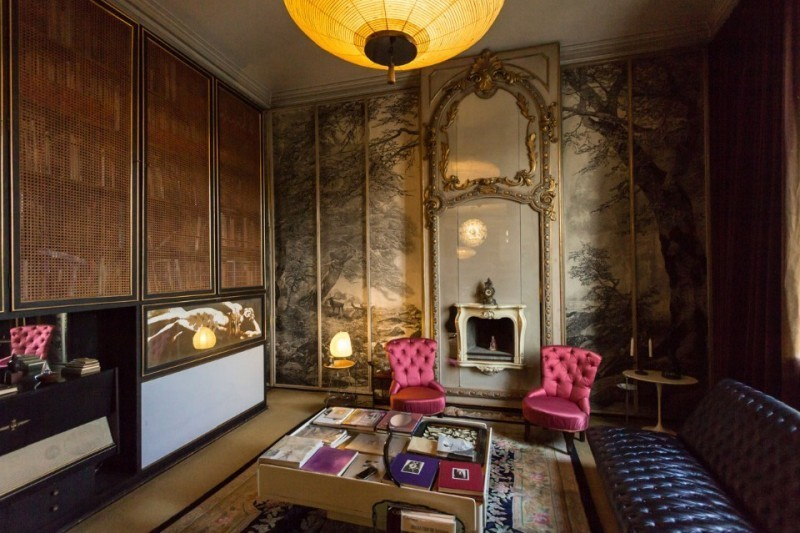 Museum Casa Mollino in Turin, photo via euro-places.com