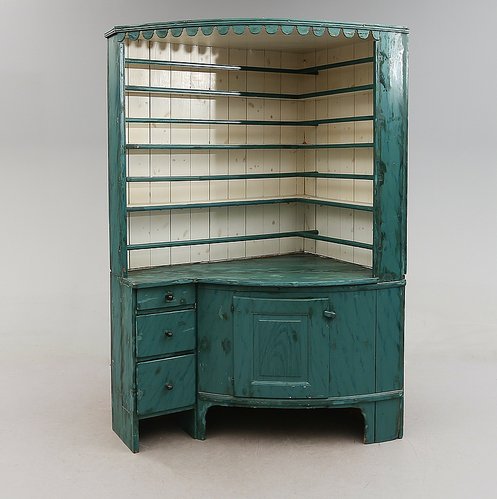 Cabinet d'angle 1700/1800 Bukowskis Market
