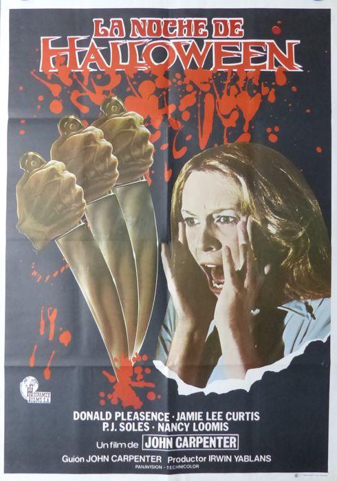 La noche de Halloween (Jamie Lee Curtis, Donald Pleasence). Película de Terror (1979)