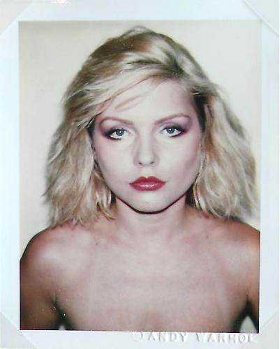 -ANDY WARHOL POLAROIDS- blondie
