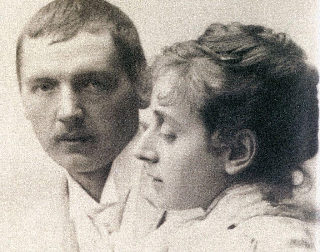 Ander och Emma Zorn 1885. Robert Roesler - Anders Zorn, Hans Henrik Brummer. Wiki Commons.