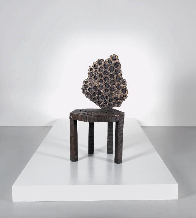 "MICHELE OKA DONER - ""Web/Hive"" Chair, USA 1990"