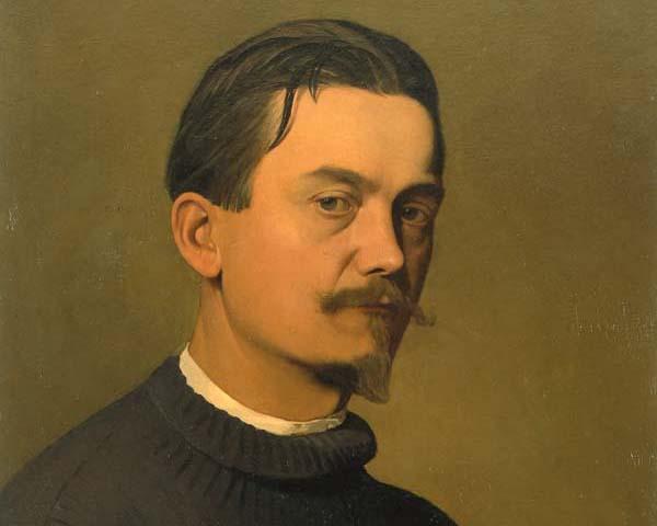 Félix Vallotton, Autoportrait, 1897, image via Wikipedia