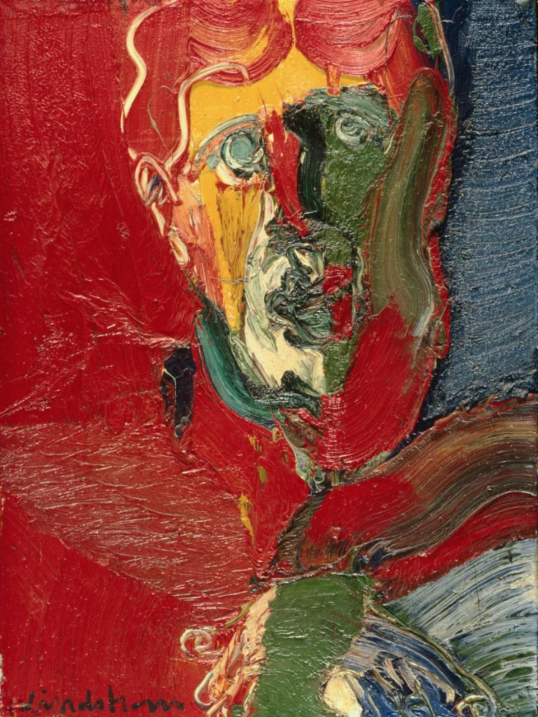 """Bengt Lindström, """"Oscar Wilde"""", år 1966. Foto via Comité Bengt Lindström."""