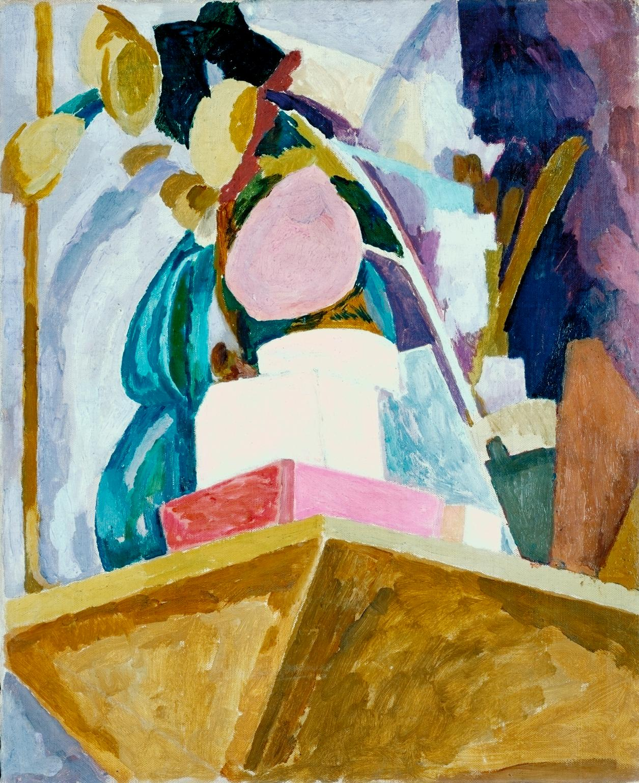 Still Life on Corner of Mantelpiece av Vanessa Bell. Bild: Tate