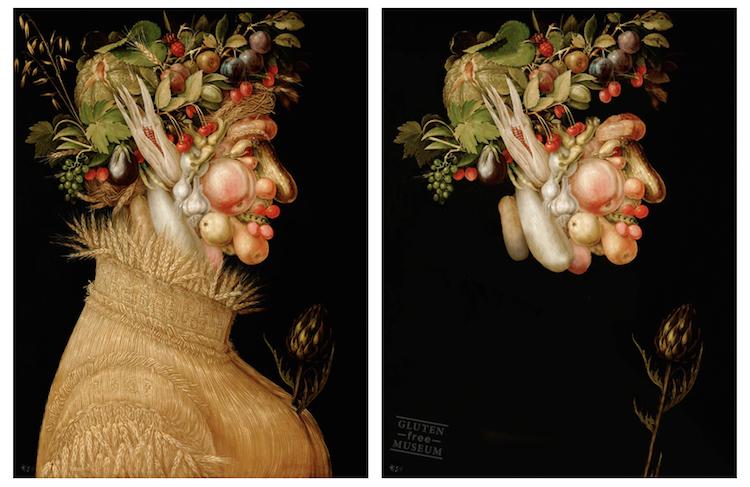 Något som saknas? Porträtt av Giuseppe Arcimboldo