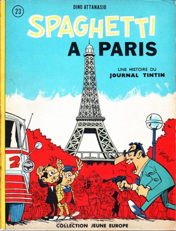 Spagheti. Volume 4: Spaghetti à Paris, 1964. Par Attanasio. BD Enchères