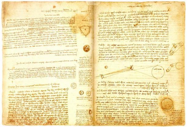 Leonardo da Vincis manuskript 'Codex'