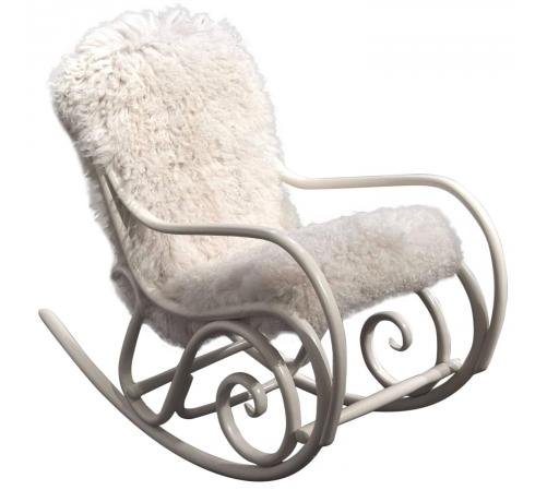 Rocking chair ,modèle N°1,dessiné en 1860 pour Thonet Fins de siècles & Plus