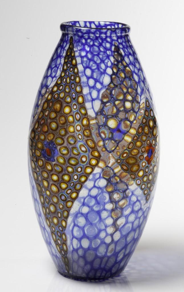 """VITTORIO ZECCHIN - Vase aus der Serie """"Mosaico"""", ARTISTI BAROVIER, Murano ca. 1924 Schätzpreis: 90.000-120.000 EUR"""