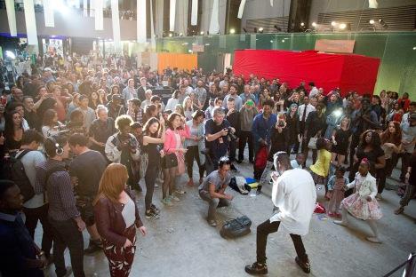 One City, One Day, Hyundai Turbine Festival 2015 Image via Tate Modern