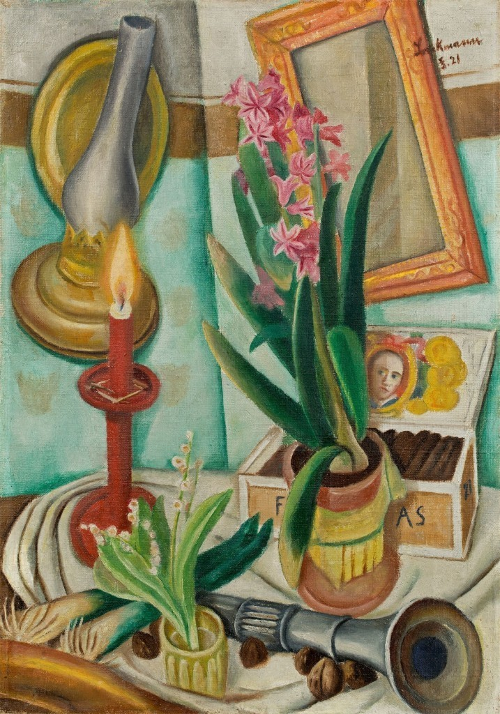 Max Beckmann, Still Life with Candle, 1921