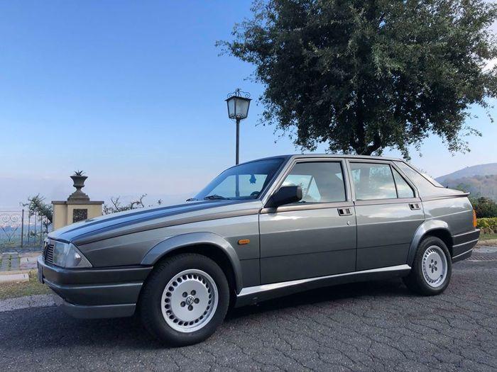 Alfa Romeo Alfa 75 2.0 Twin Spark Sedan, 1987. Photo: Catawiki