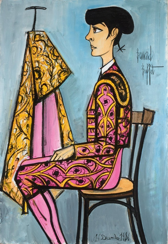 Bernard Buffet, 'Annabel in a Matador Costume', 1986. Photo: Dorotheum