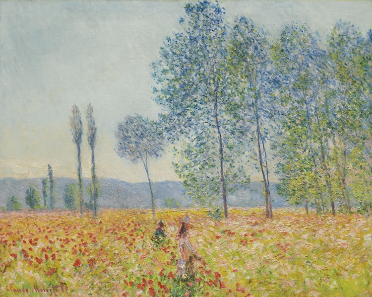CLAUDE MONE. Sous les Peupliers, 1887. Estimated at $12,000,000 — $18,000,000. Sotheby's
