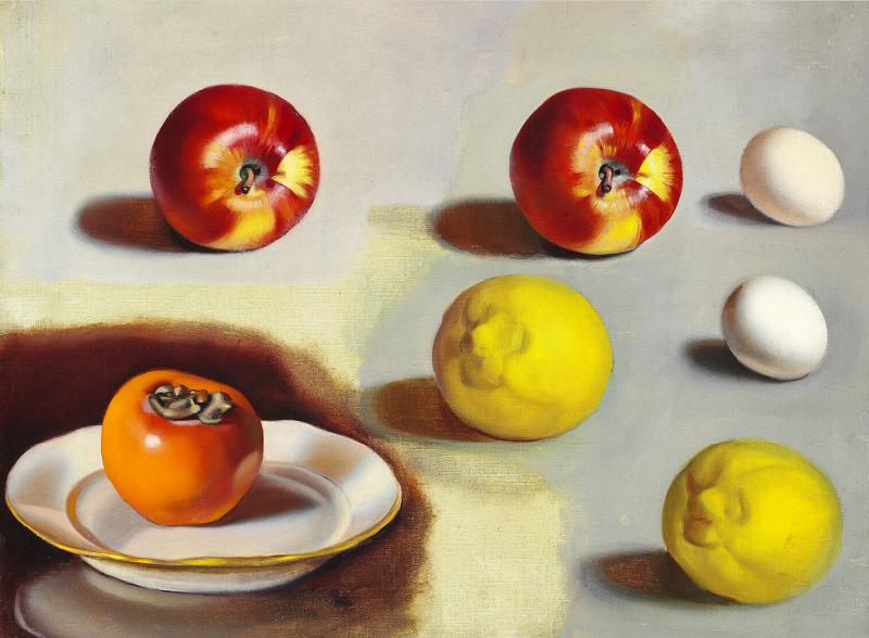 "TAMARA DE LEMPICKA. ""Etude de pommes et citrons"" (c. 1946)"
