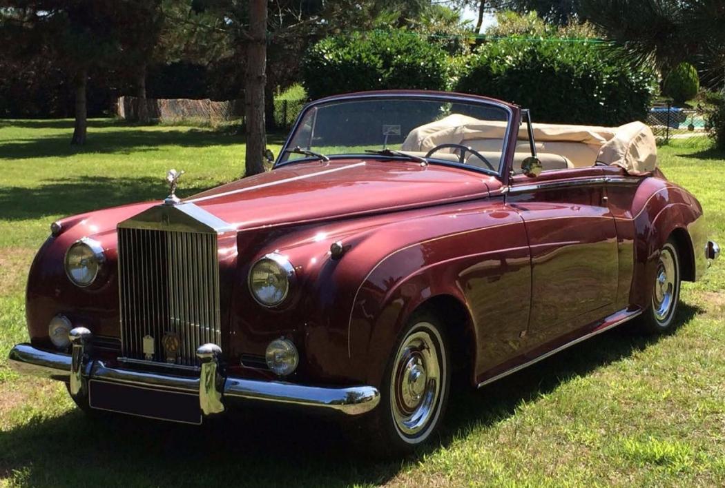 1957 - ROLLS ROYCE Silver Cloud I cabriolet