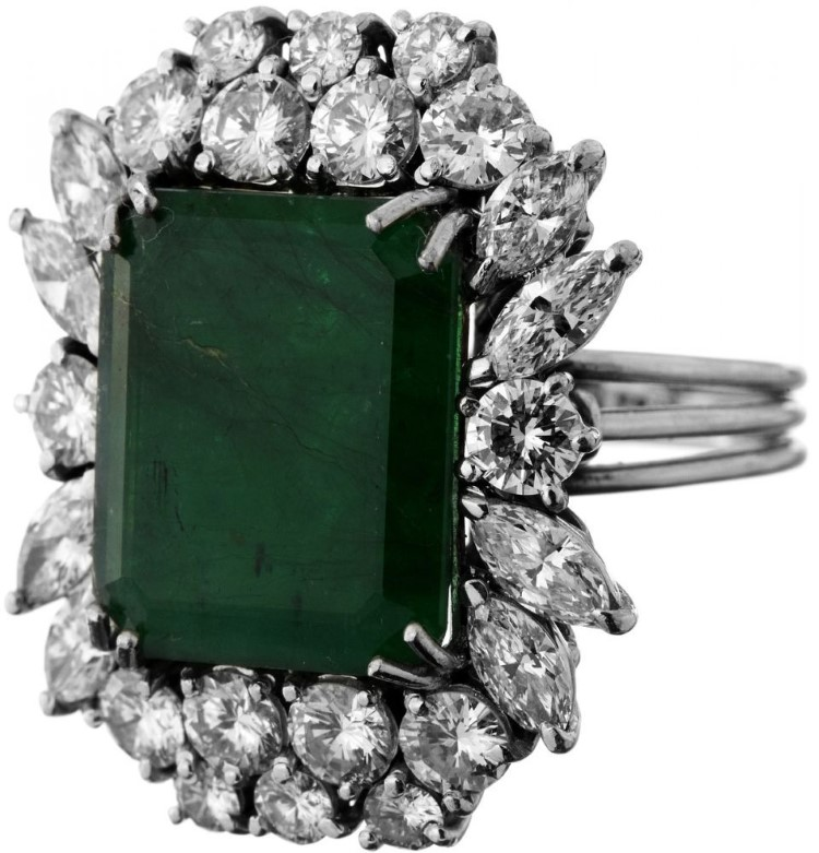 smaragd diamant ring zofingen