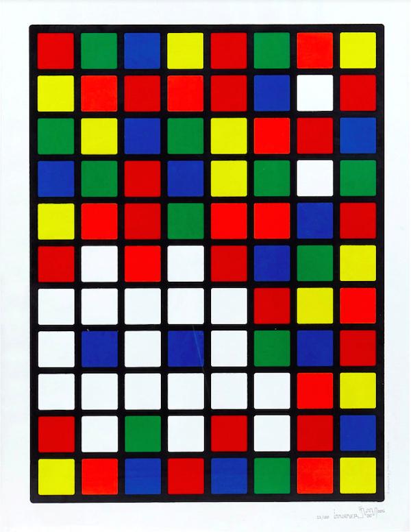 Space Invader Rubik Space