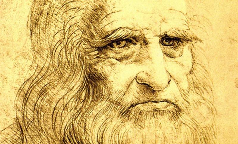 Leonardo Da Vinci. Självporträtt, cirka 1512. Foto: Bettman/Corbis/Scanpix.