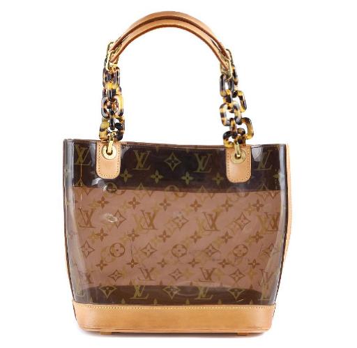"""Louis Vuitton, """"Cabas Ambre"""". På auktion hos Kaplans Auktioner."""