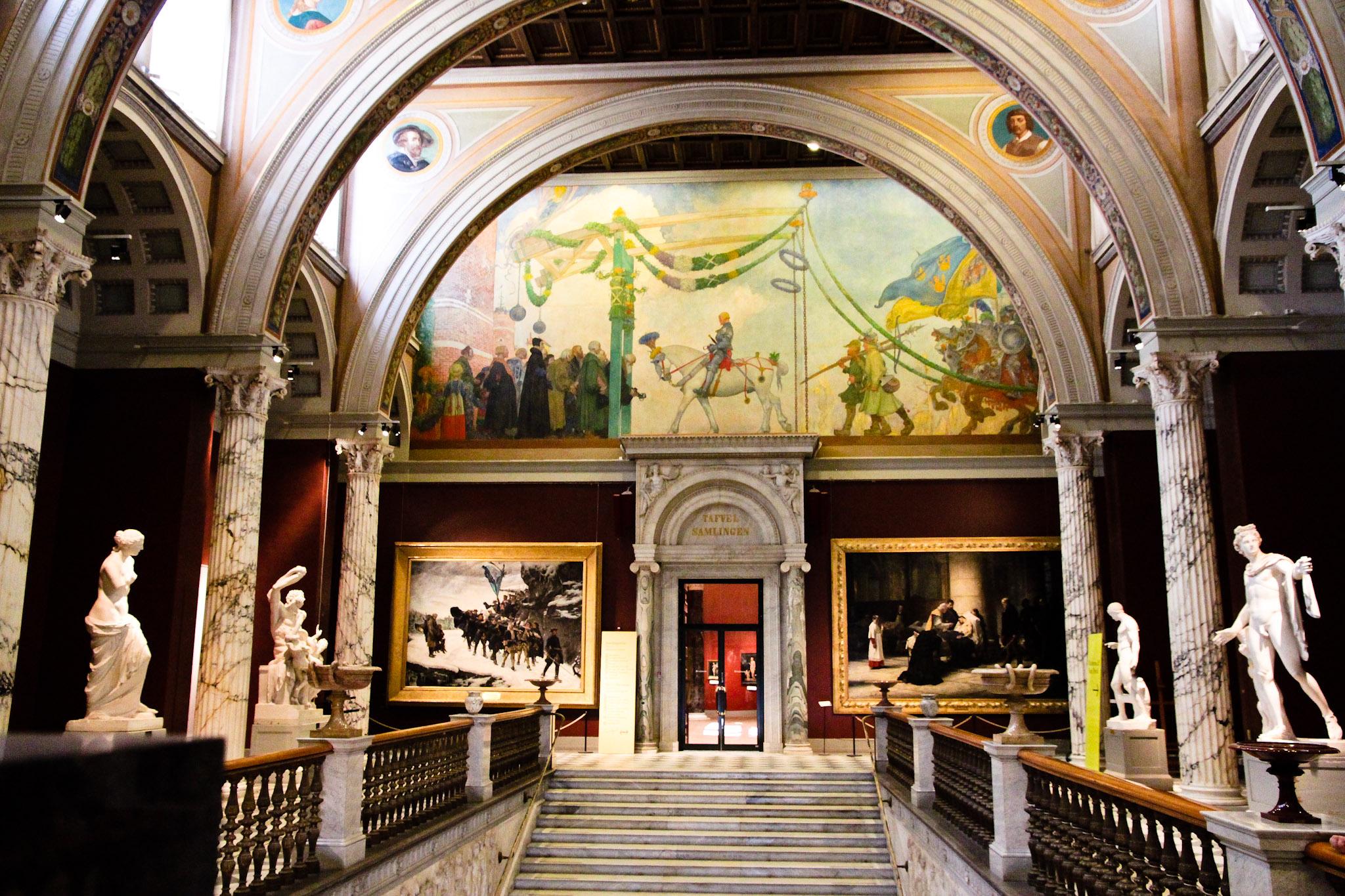 Gustav Vasas intåg i Stockholm på Nationalmuseum i Stockholm. Bild Wikimedia Commons