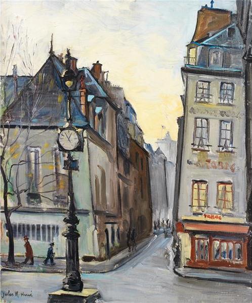 Jules René Hervé (1887-1981) Place de paris Tajan