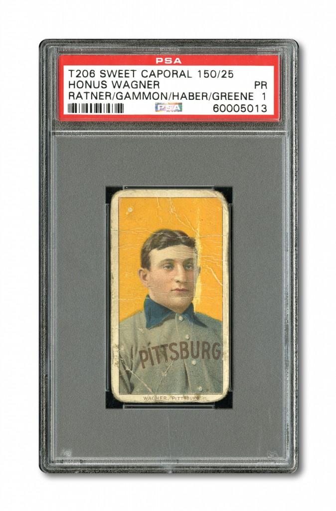 Honus Wagner T206 card