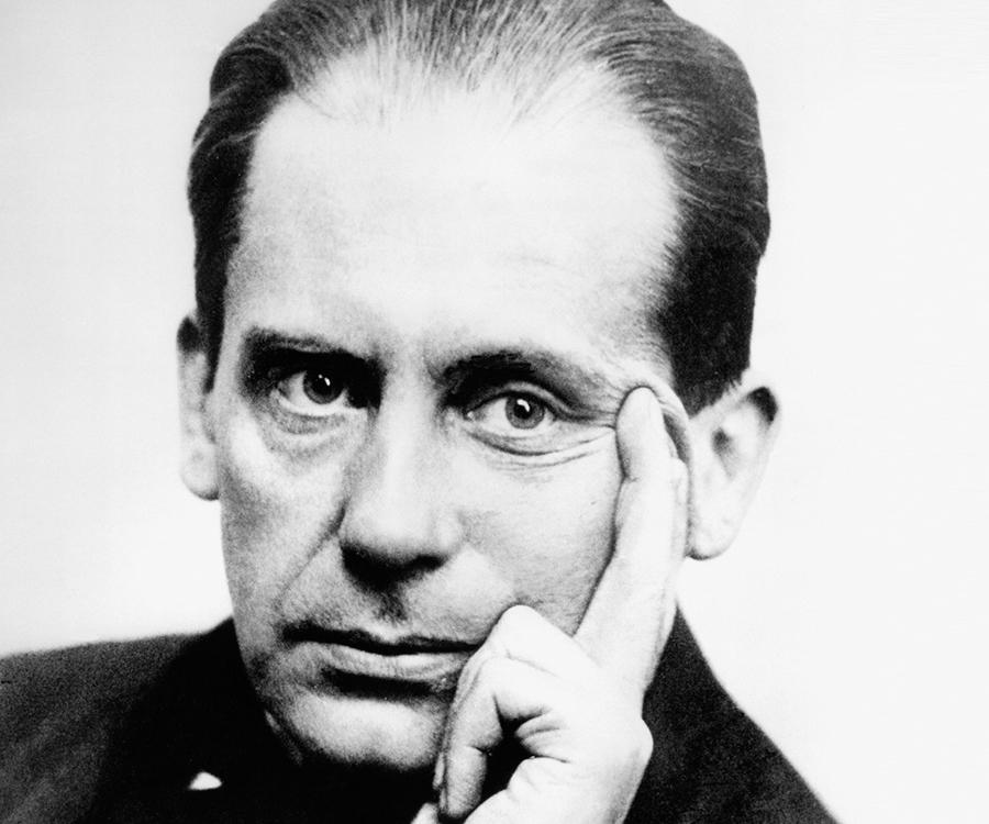 Walter Gropius (1883-1969), Bauhaus grundare. Bild via Wikipedia