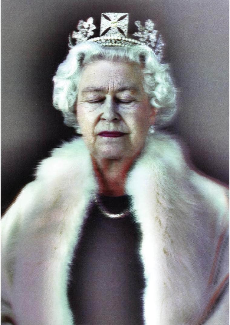 """Chris Levine, """"Lightness of Being"""" år 2010. Foto: Sotheby's."""