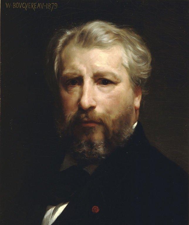 Självporträtt, William Bouguereau. 1879, olja på duk.