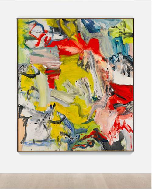 """Willem De Koonings mästerverk """"Untitled XXI"""" från 1976 ropas ut för 25-35 miljoner dollar"""