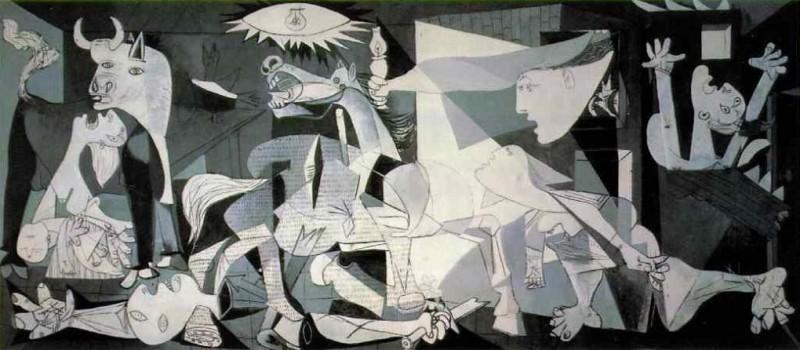 """""""Guernica"""", år 1937. Foto: pablopicasso.org."""