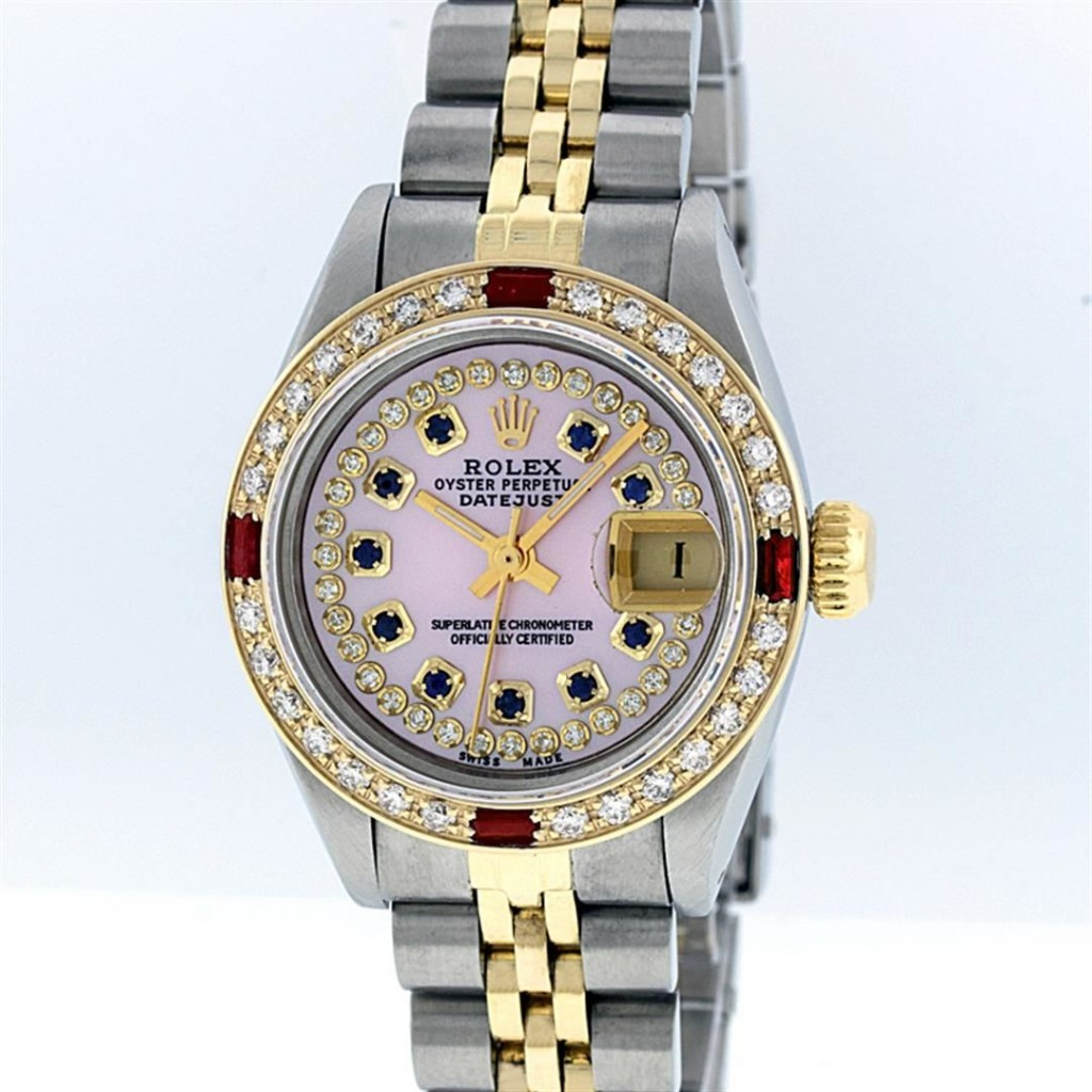 Two Tone Rolex DatejustAuction begins on January 22