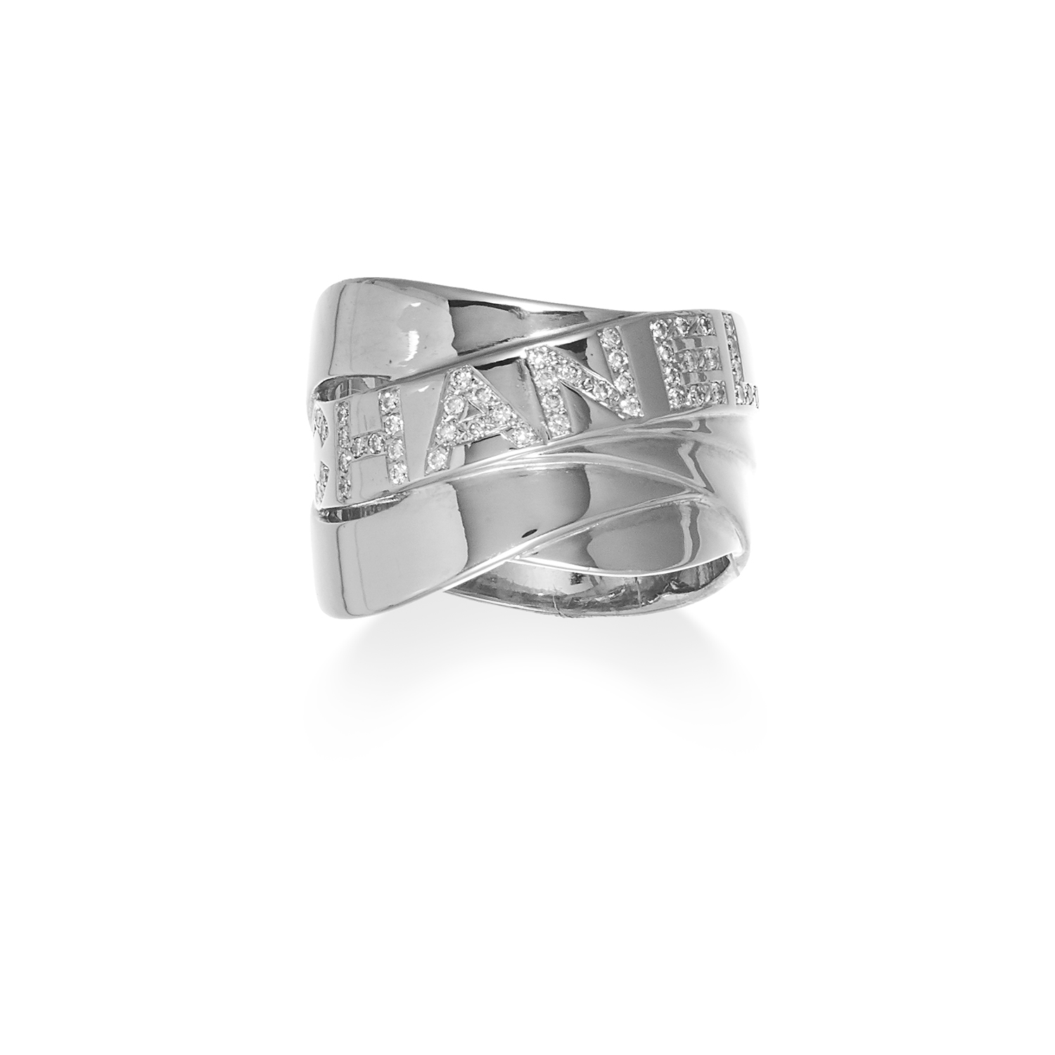Diamond Band Ring by Chanel. Photo: Elmwood's