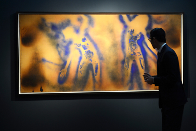 Yves-Klein_Christie´s_world-record-for-the-artist_prisrekord för konstnären