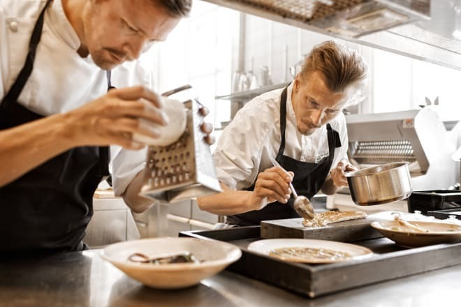 Sustainable pleasure. Photo sculptor Paul Svensson has entered the list of the world's 50 most important chefs and restaurants for sustainable development.