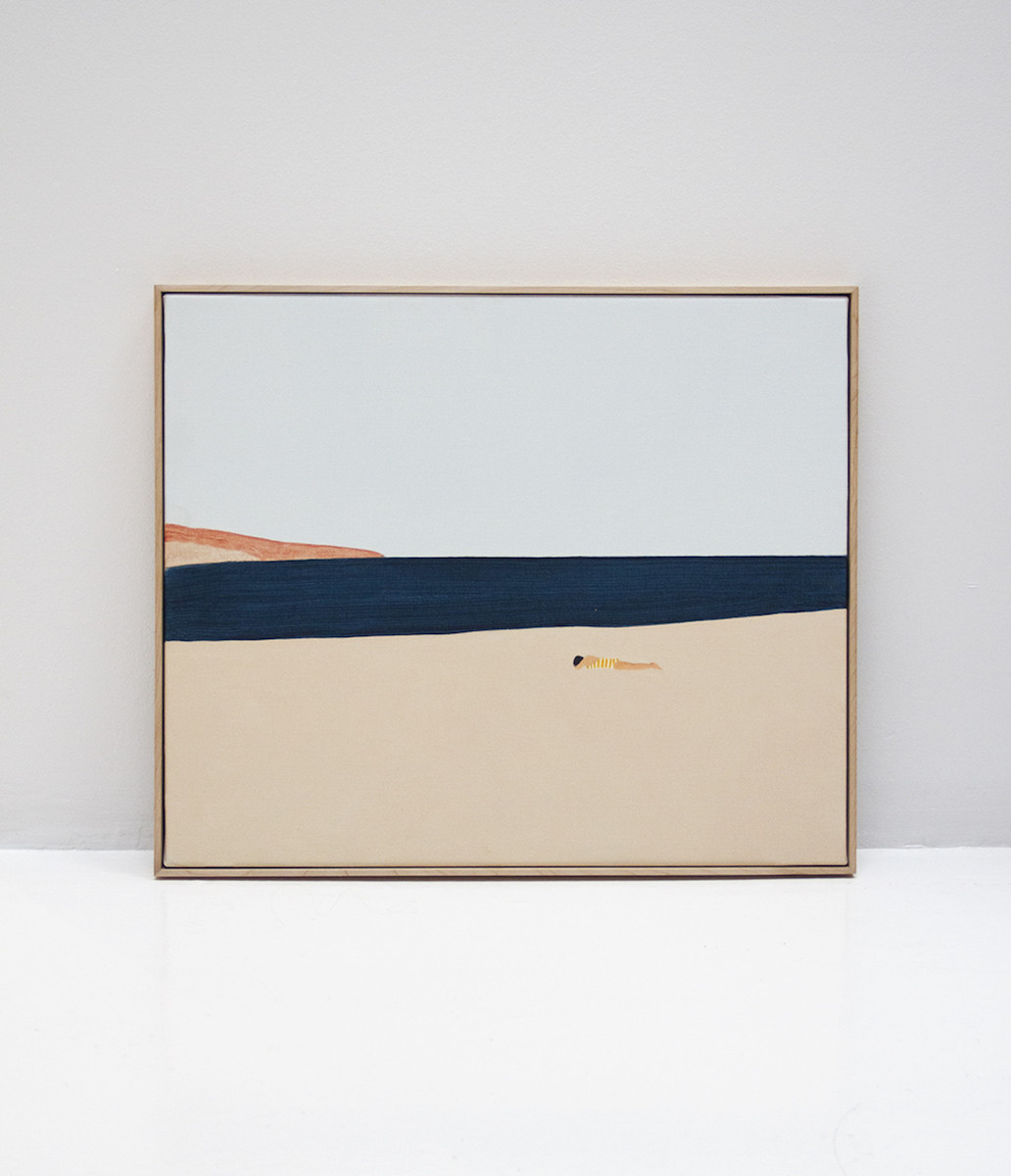 Guim Tió Zarraluki - La plajta, 2017 - Galeria Miquel Alzueta
