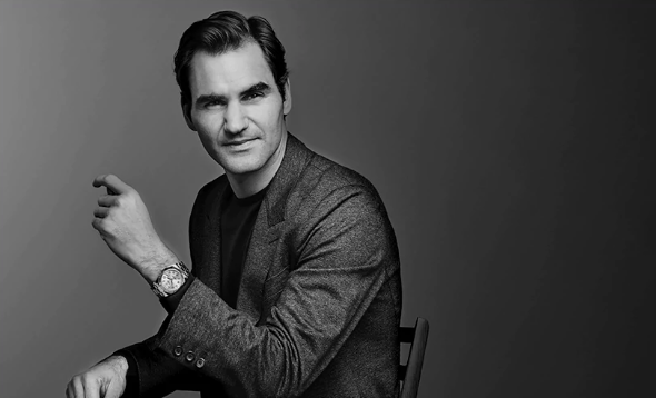 Le tennisman Roger Federer est l'un des ambassadeurs les plus populaires de Rolex Image: courtesy of Rolex