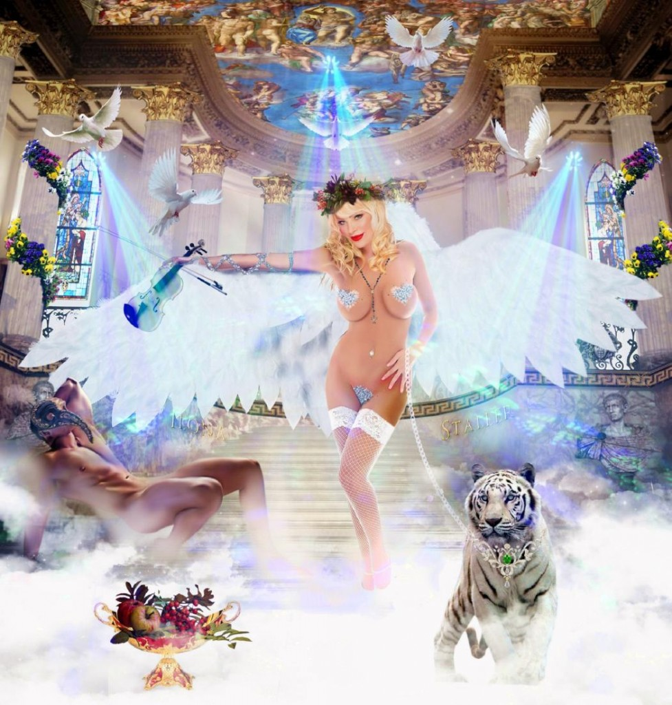 ILONA STALLER - White Angel Startpreis: 5.000 EUR