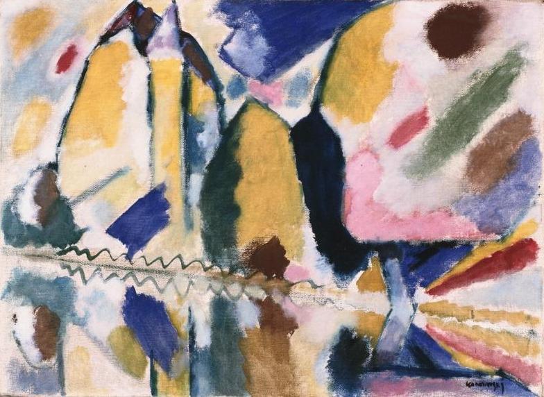 Wassily Kandinsky, Fall II, 1912