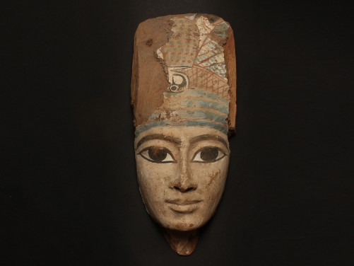 EGYPTIAN WOOD MUMMY MASK THIRD INTERMEDIATE, CIRCA 1070-712 B.C. Fixed price: $12,000. Photo via Medusa Ancient Art