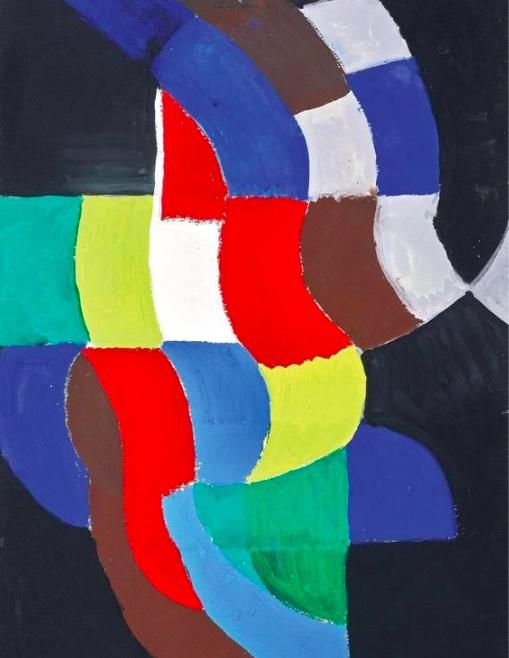 Sonia Delaunay, 1885–1979, « Rythme coloré », 1959, image ©Dorotheum