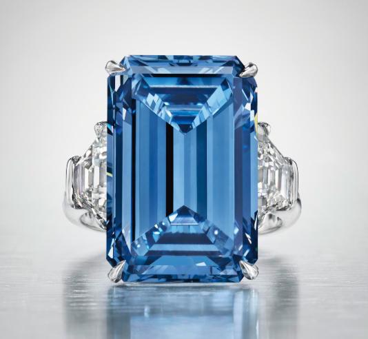 Oppenheimer Blue, image ©Christie's