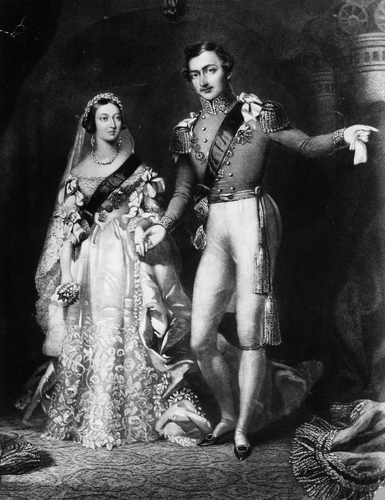 英國維多利亞女王和丈夫阿爾伯特親王 圖片:gettyimages