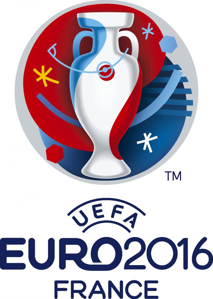 Le logo de l'Euro 2016 Image via Wikipedia