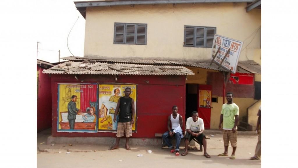 Das Sea View Kino in Elmina, Ghana | Foto: Wolfgang Stäbler via Catawiki