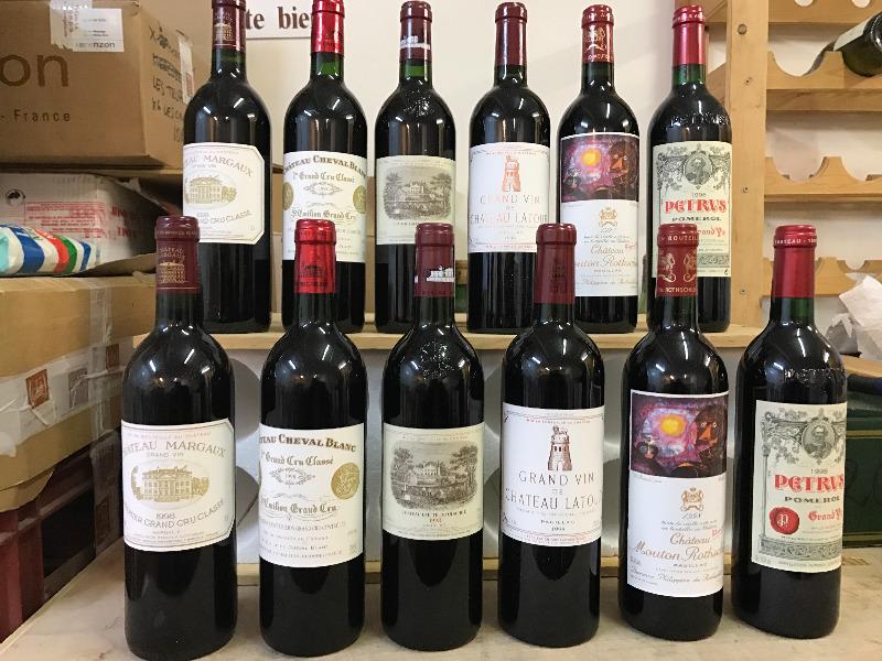 Caisse Primeur Duclot (12 Btles), Bordeaux, 1998 Fin des enchères le 13 février Estimation basse: 7 000 euros