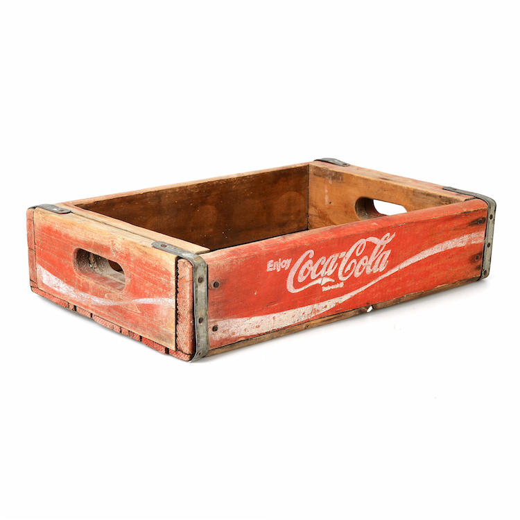 Back, trä, Coca Cola Utrop: 300 Sek Formstad Auktioner