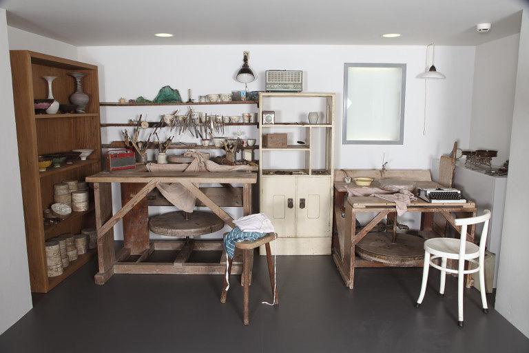 Lucie Ries Werkstatt - Nachgebaut im Londoner Victoria and Albert Museum | Foto via V&A Collections